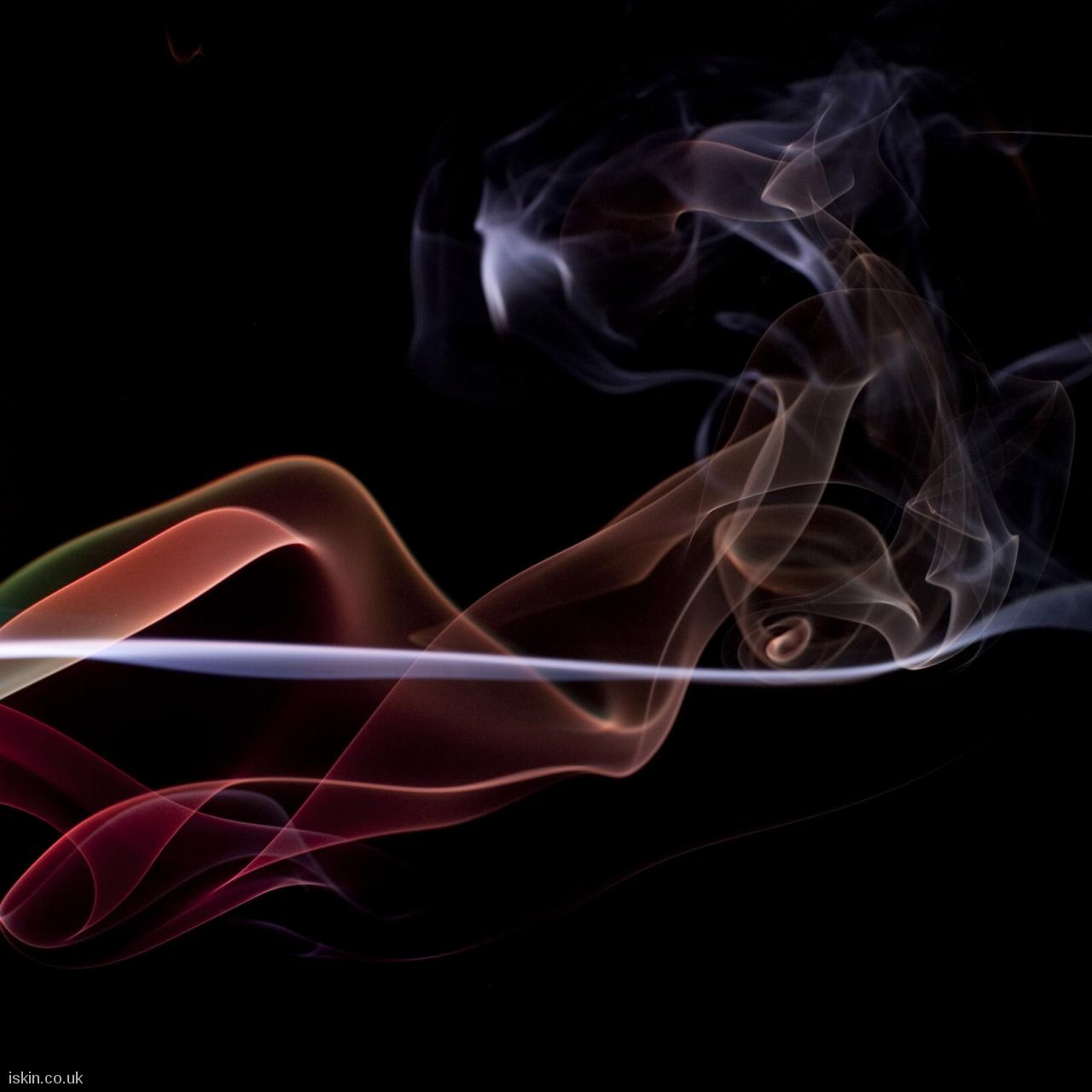 android table squaretwisting smoke background