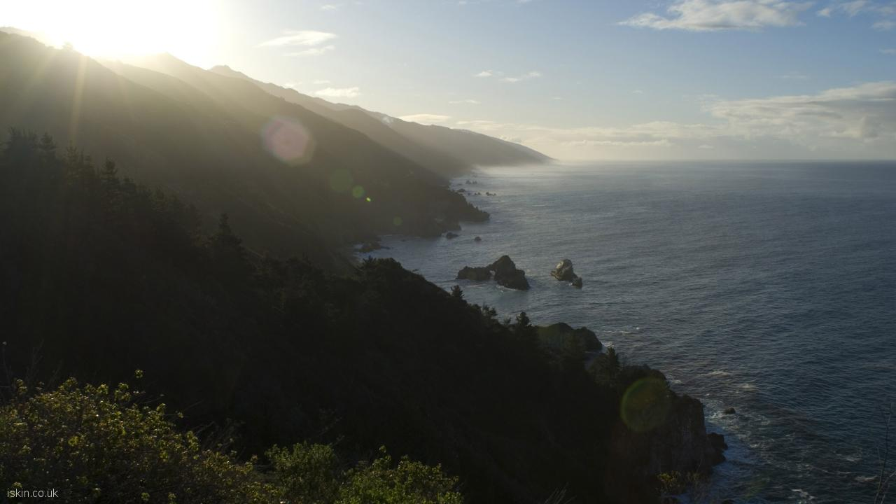 desktop image big sur morning light