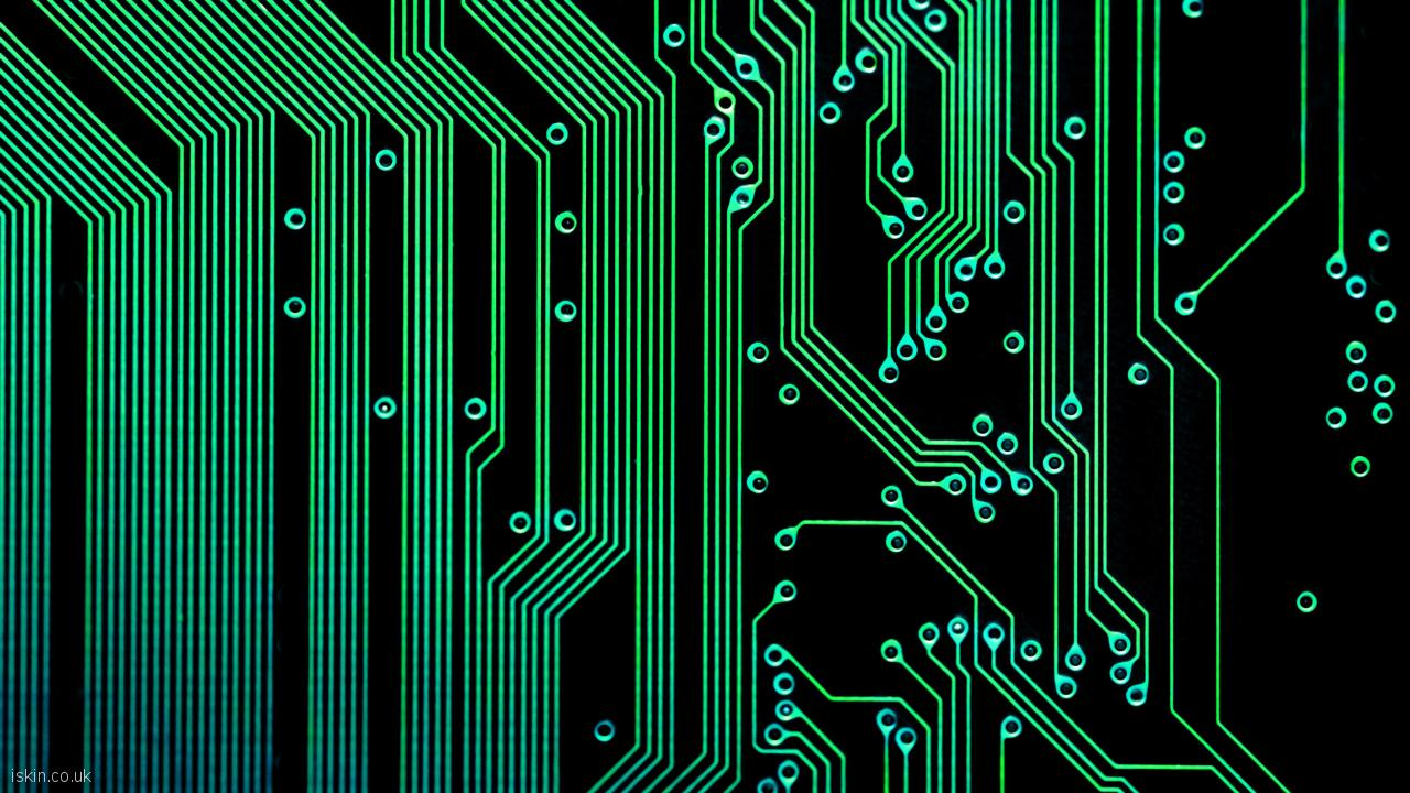desktop image electronic circuits