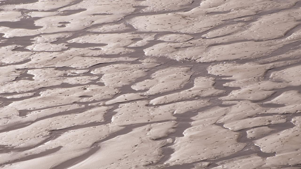 desktop image wet sand patterns