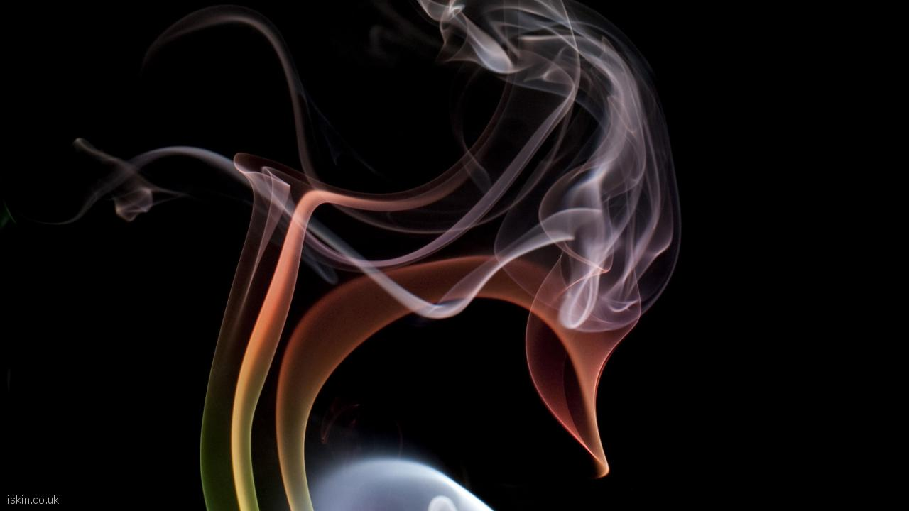 desktop image chaotic smoke cloud