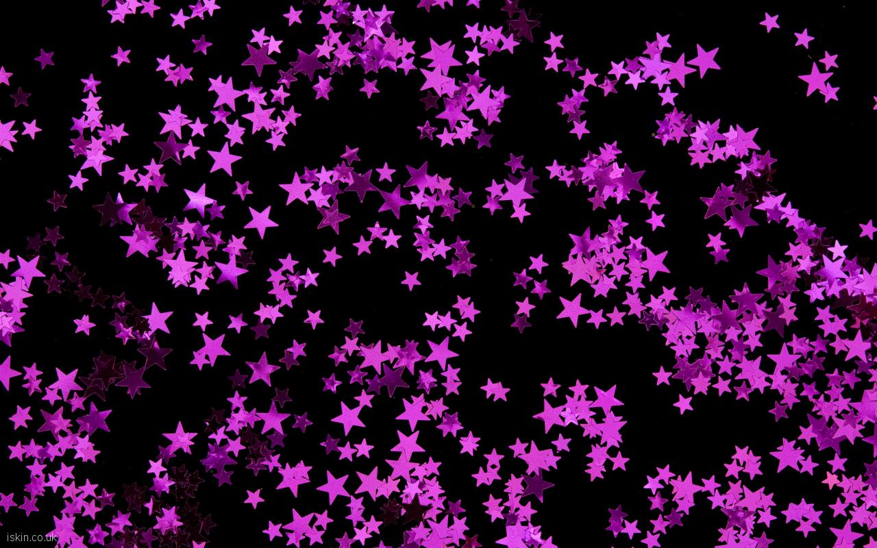 Purple And Black Star Backgrounds