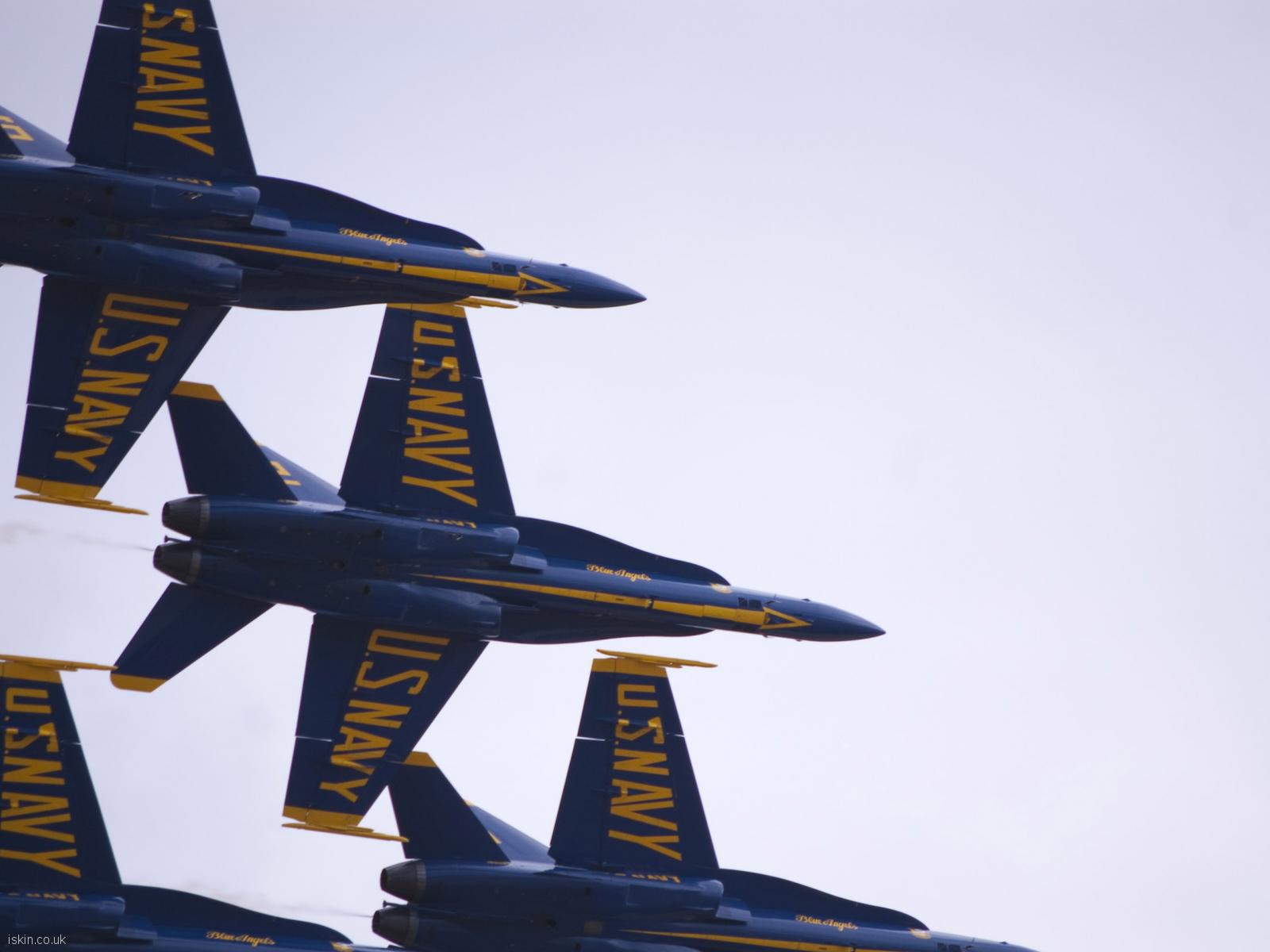 desktop image Blue Angels Display Team
