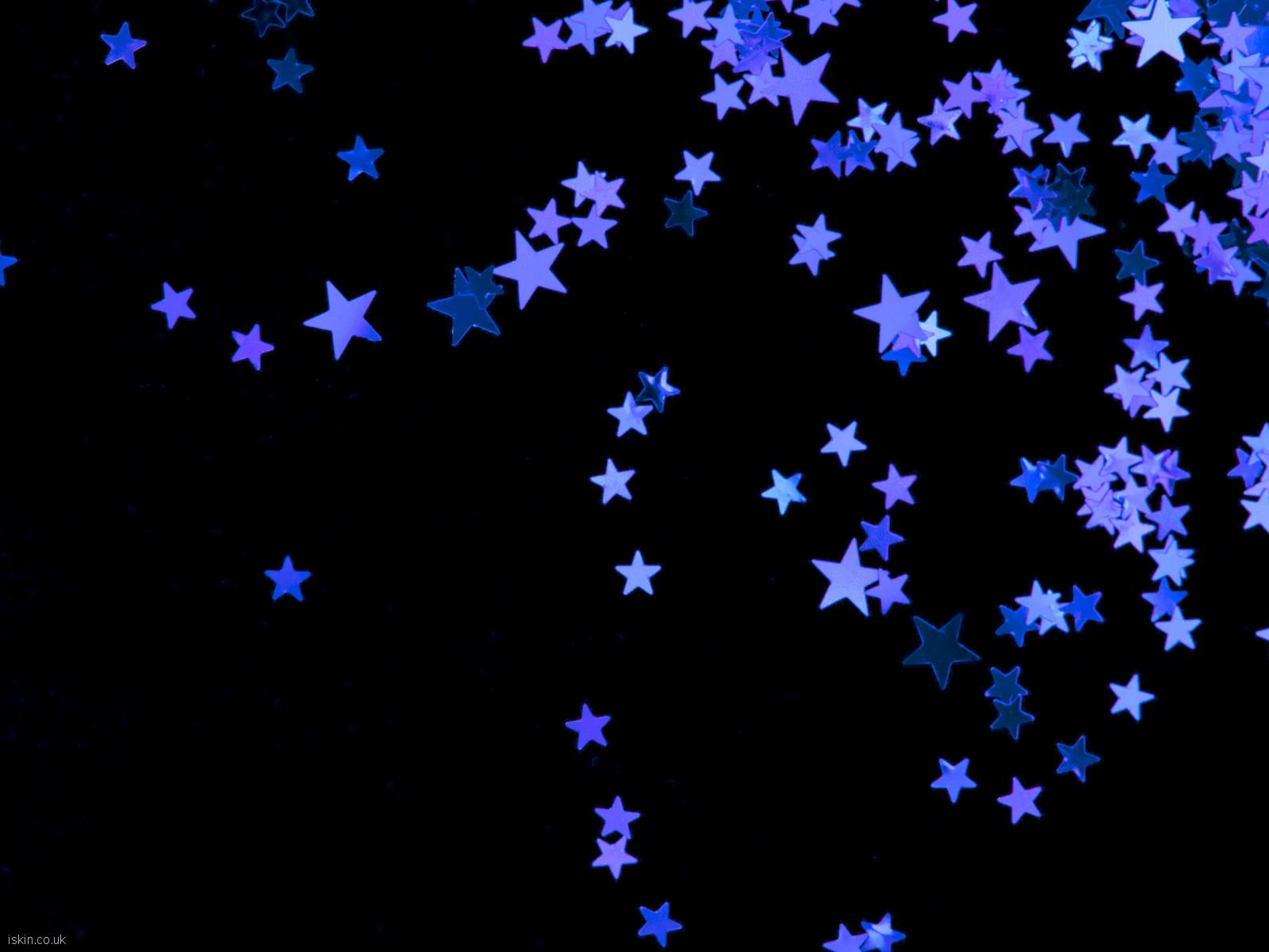 desktop image purple stars