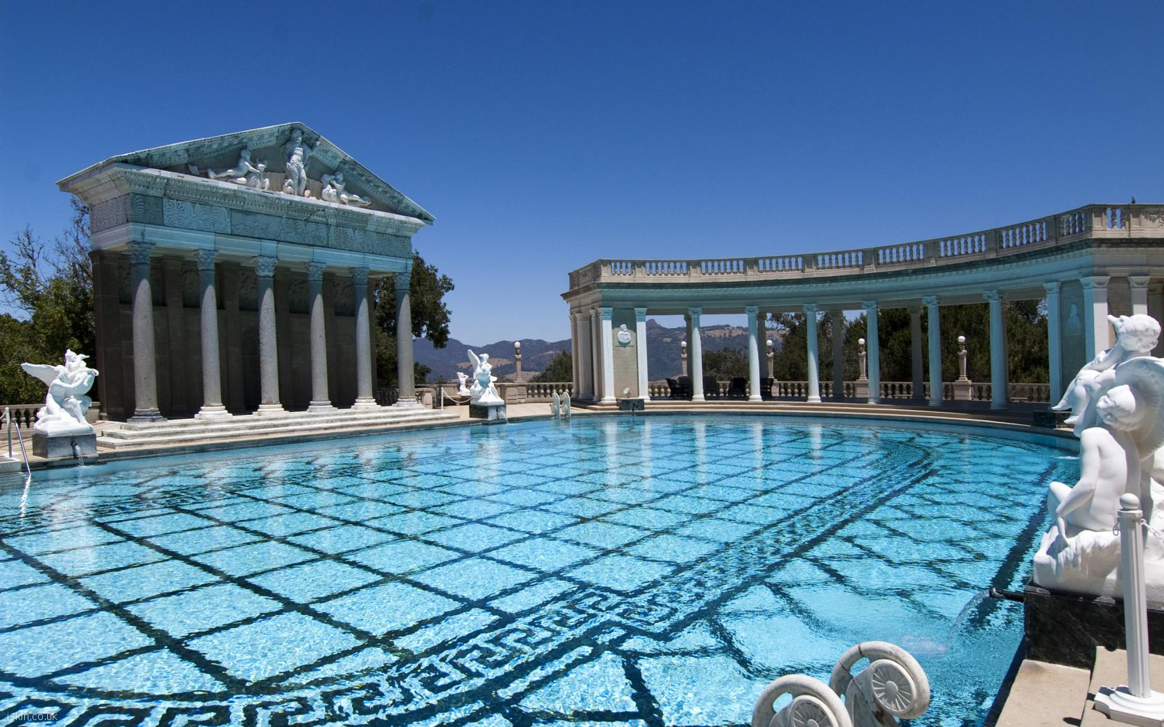 desktop image hearst castle