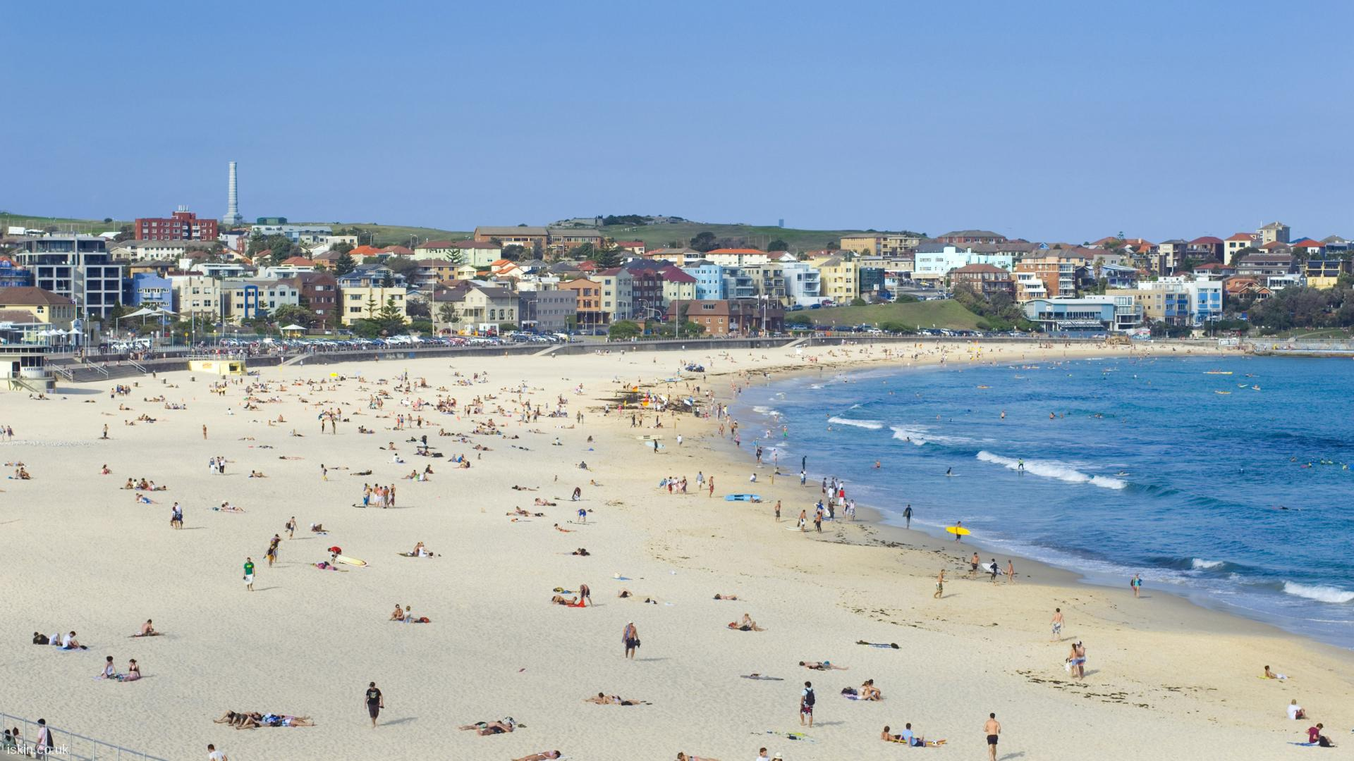 desktop image Bondi beach