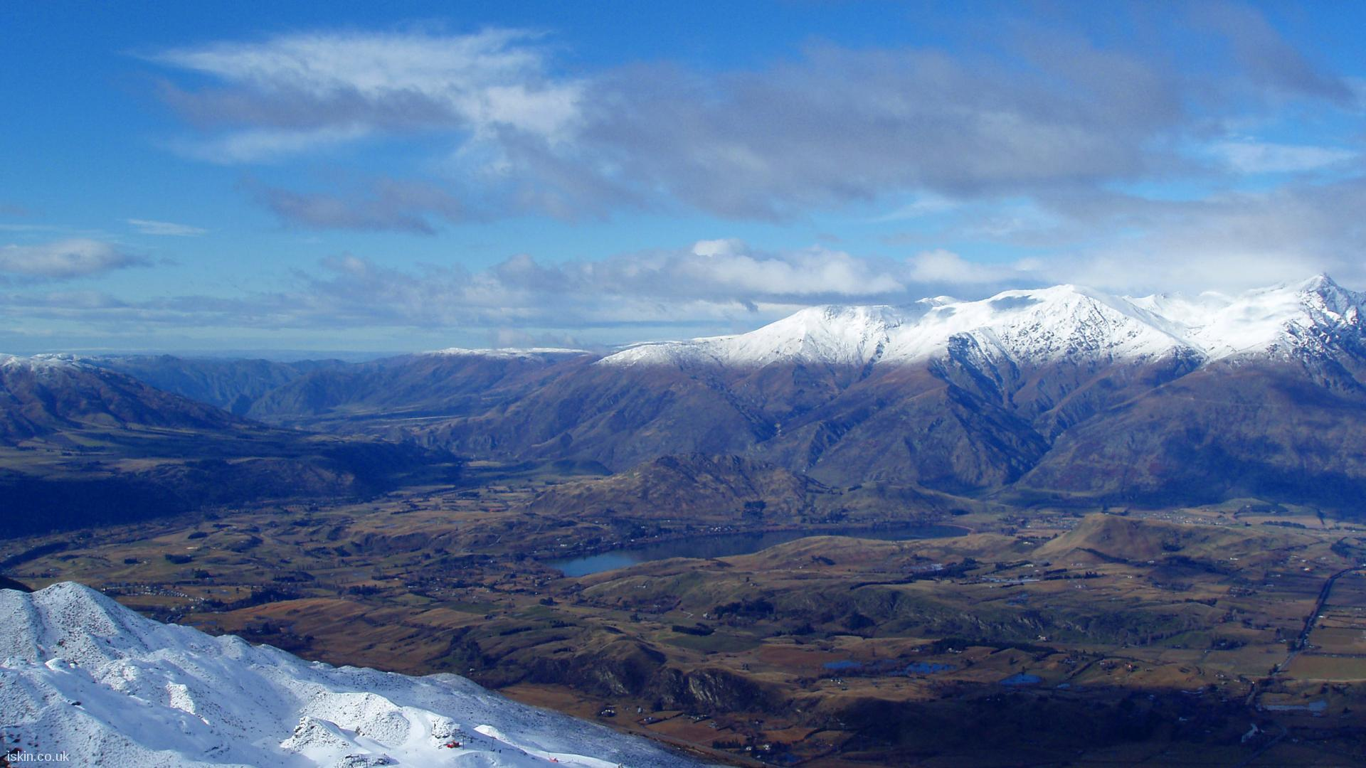 desktop image The Remarkables Snowline