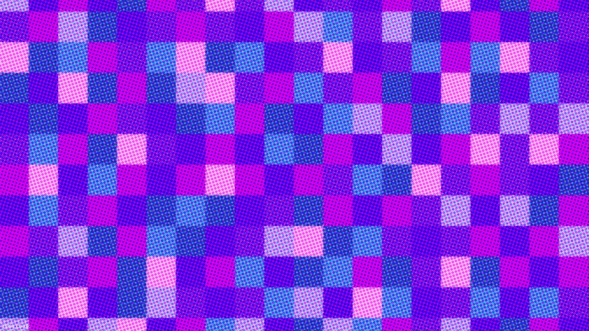 desktop image halftone dots and squares