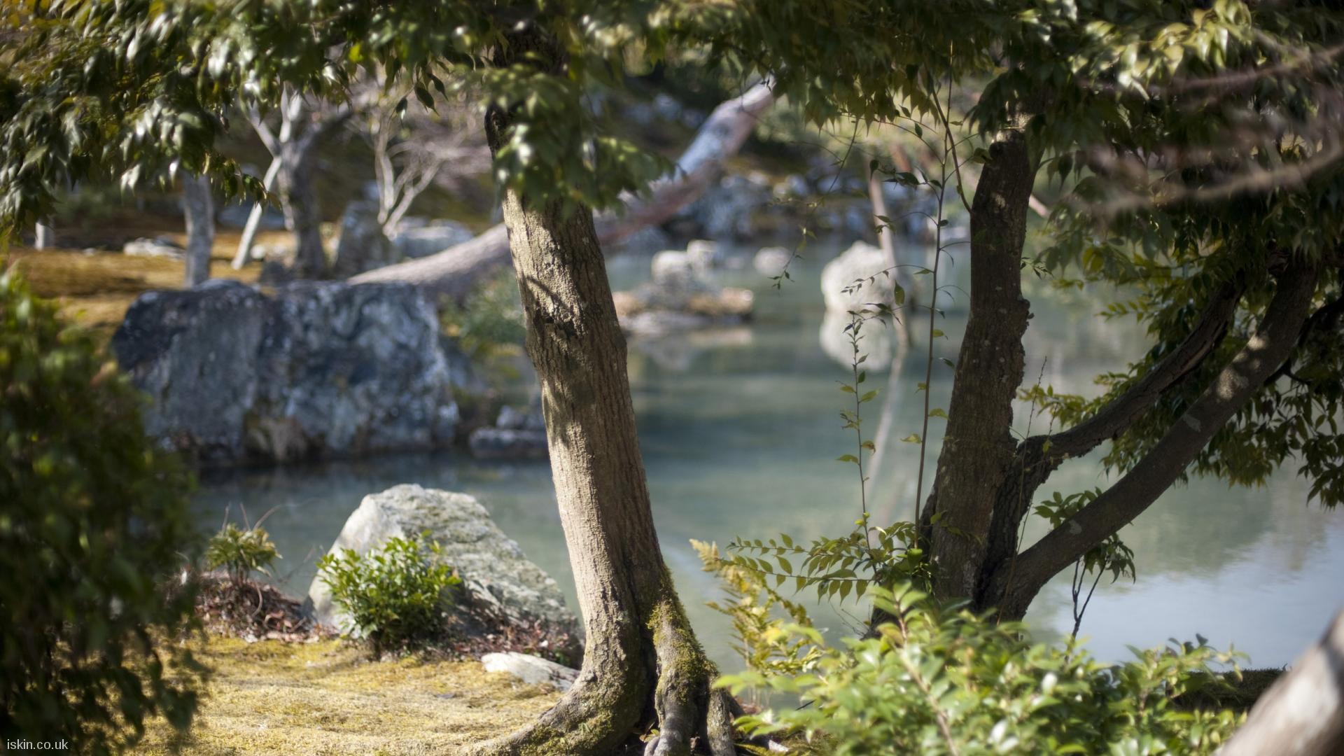Zen Garden Desktop Wallpaper