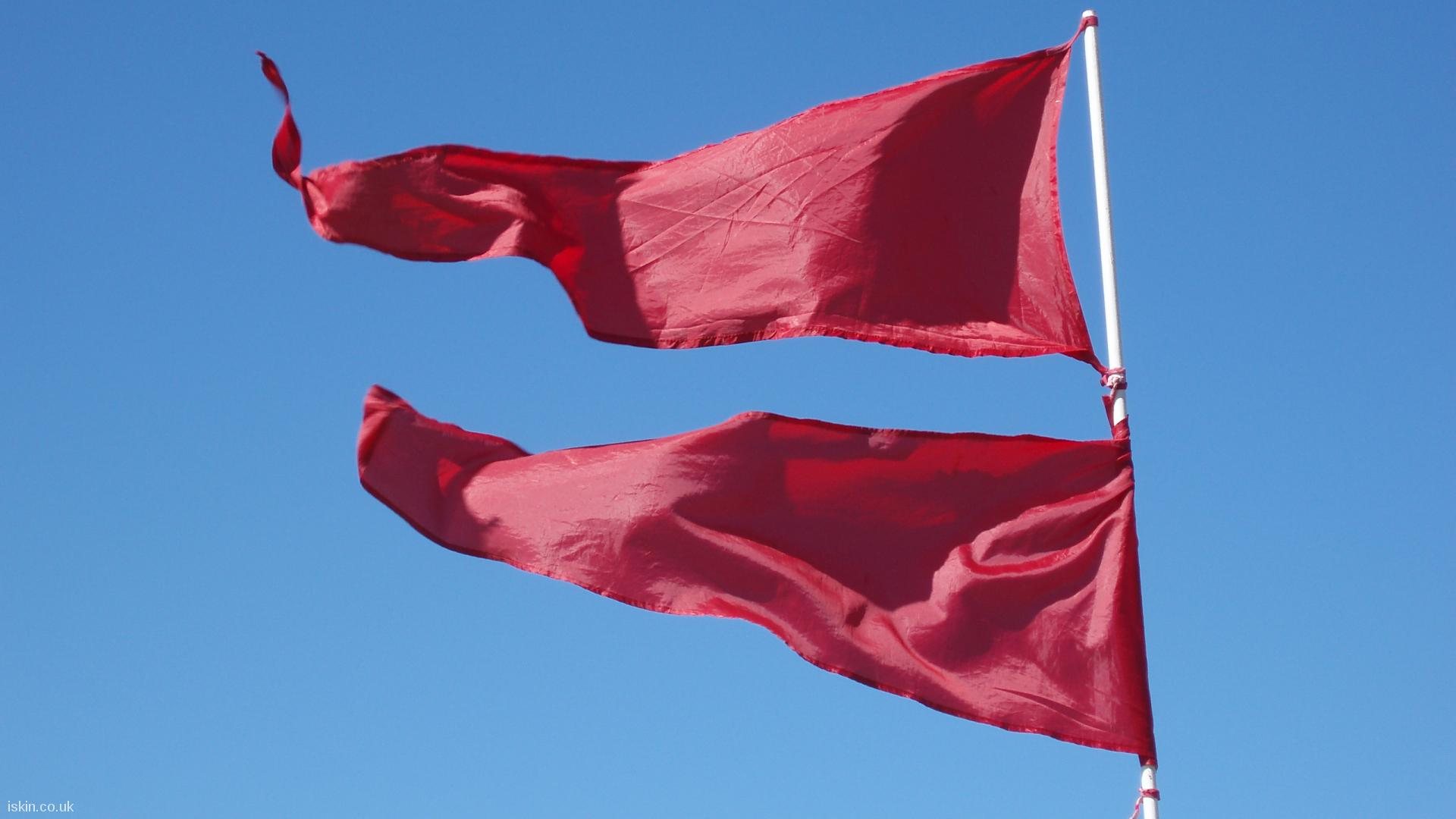 desktop image Red Flag Day