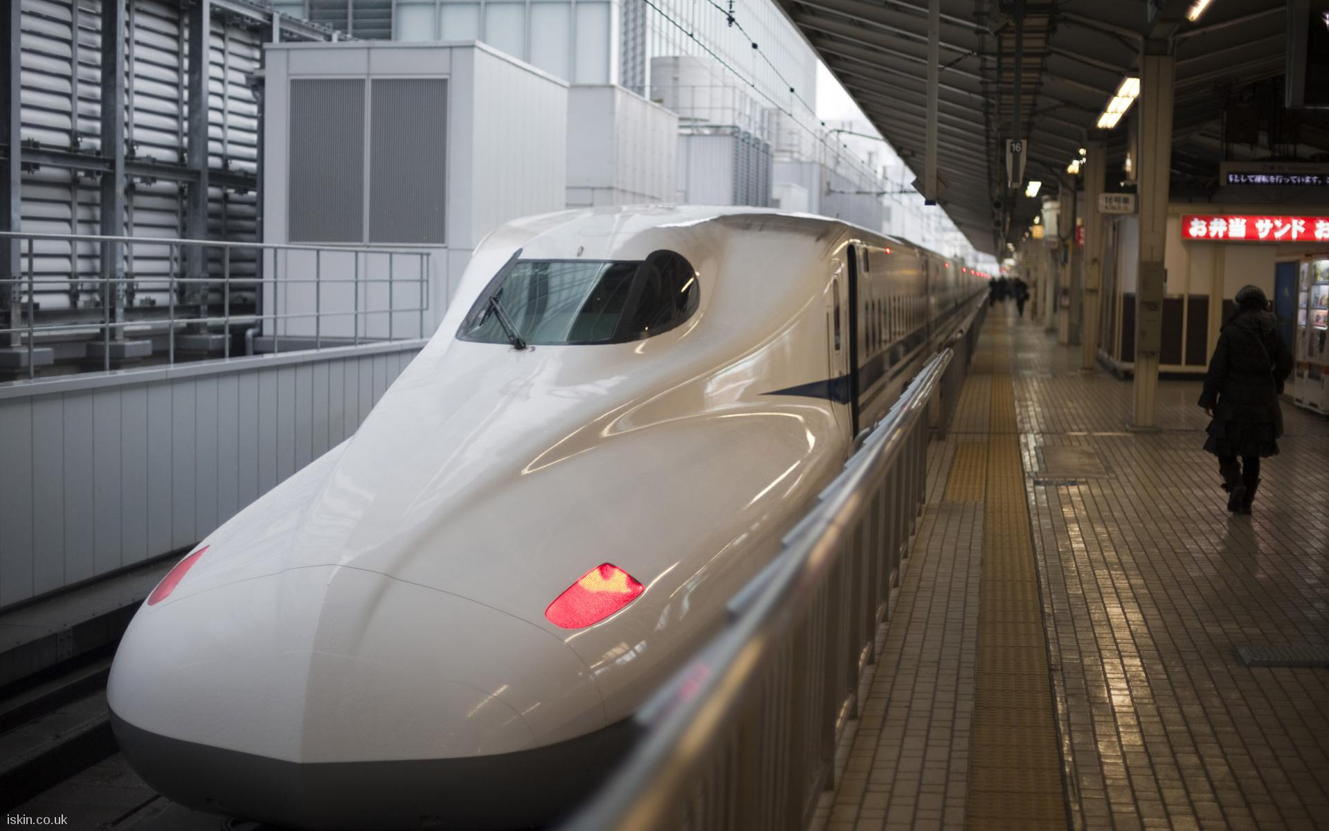 desktop image bullet train