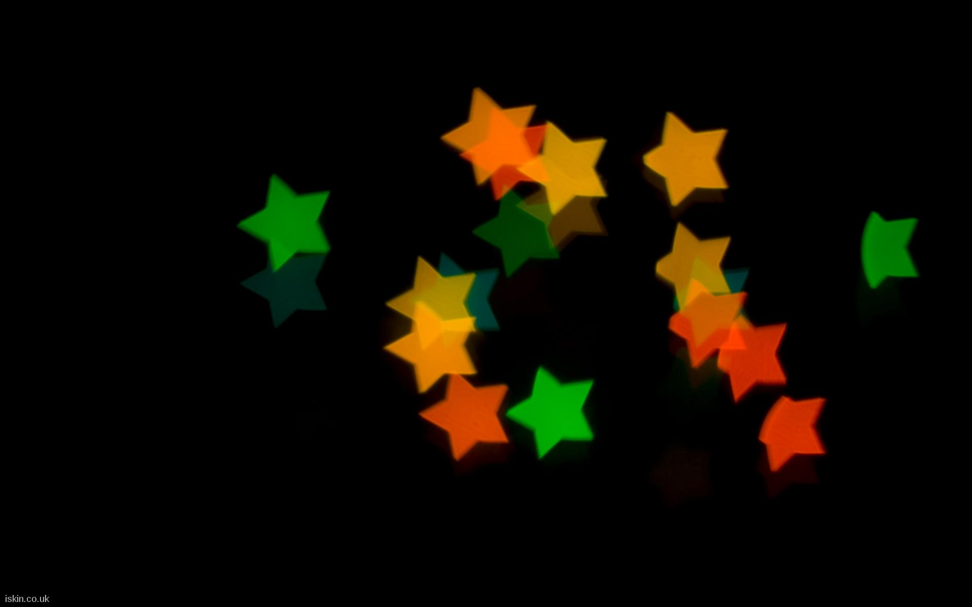 desktop image Christmas Star Lights