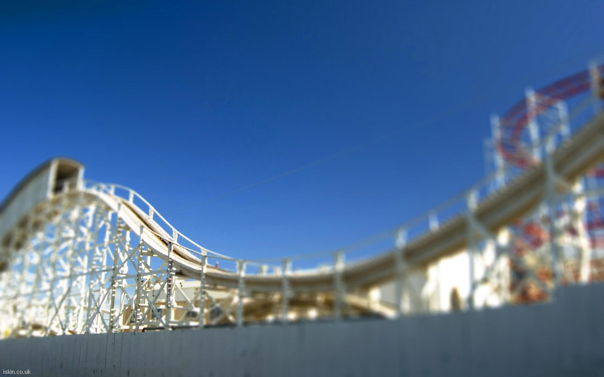 rollercoaster ride desktop wallpaper | iskin.co.uk