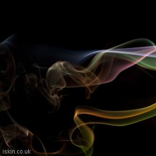 desktop image colorful smoke whisps