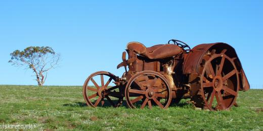 twitter header Rusted Tractor