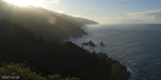 twitter header big sur morning light