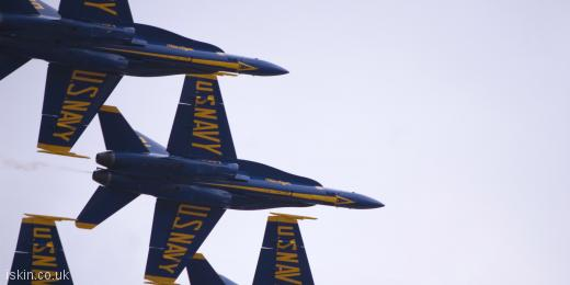 twitter header Blue Angels Display Team