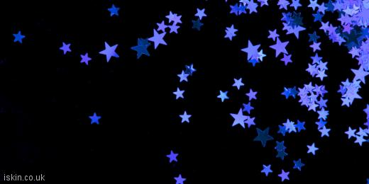 twitter header purple stars