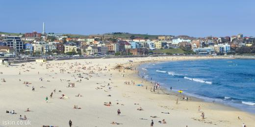 twitter header Bondi beach