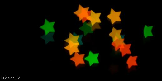 twitter header Christmas Star Lights