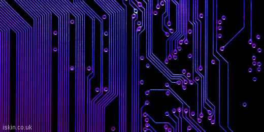 twitter header printed circuit board