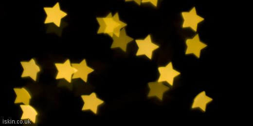 twitter header Yellow Stars