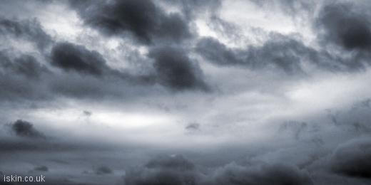 twitter header Stormy Sky