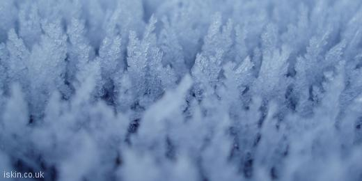 twitter header Ice Crystals