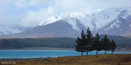 twitter header Lake Pukaki