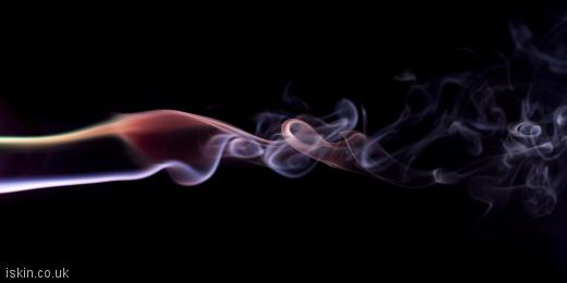 twitter header twisting smoke trails