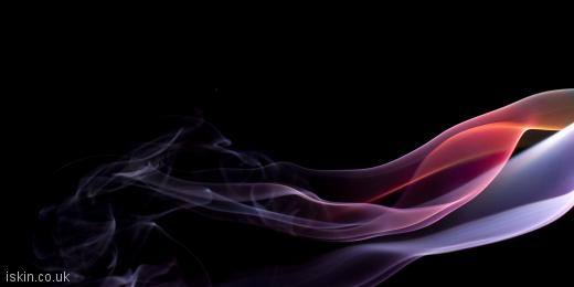 twitter header brightly colored smoke