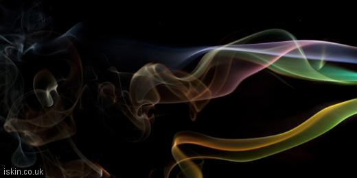 twitter header colorful smoke whisps