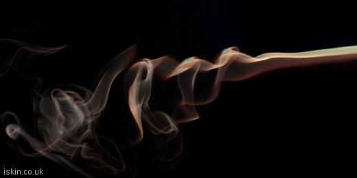 twitter header smoke abstract