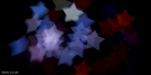 twitter header Boke Star Shapes
