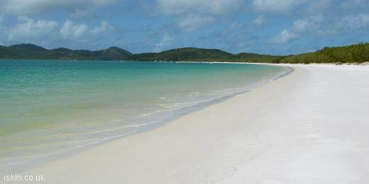 twitter header Whitehaven Beach