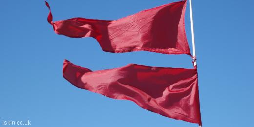 twitter header Red Flag Day