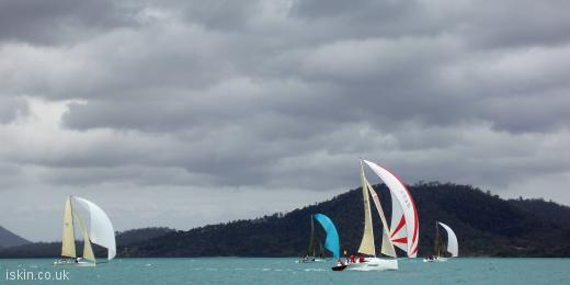 twitter header Spinnakers in the wind