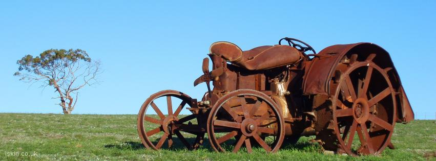 facebook header Rusted Tractor