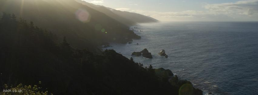 facebook header big sur morning light