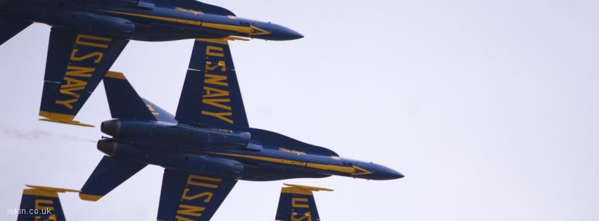 facebook header Blue Angels Display Team