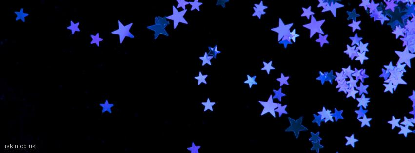 facebook header purple stars