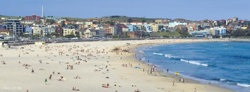 facebook header Bondi beach
