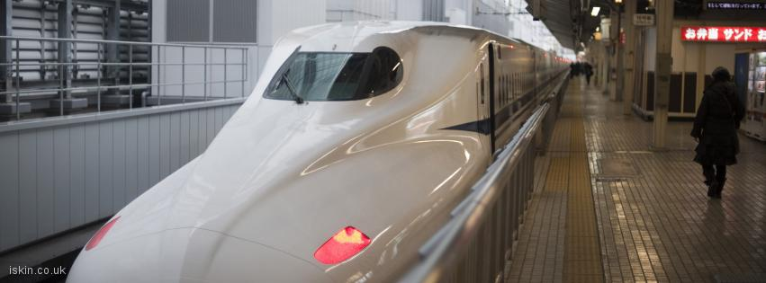 facebook header bullet train