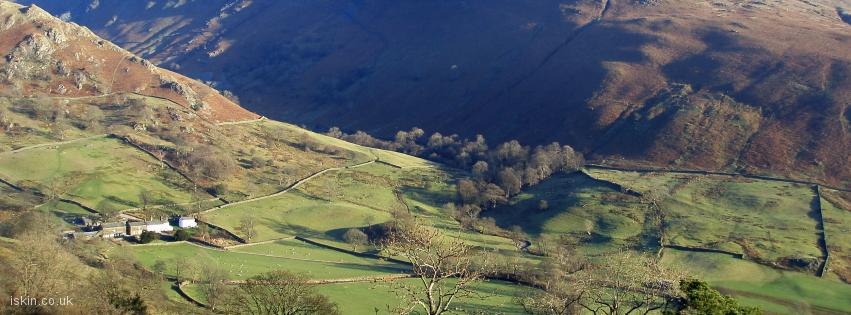 facebook header Cumbrian Fells