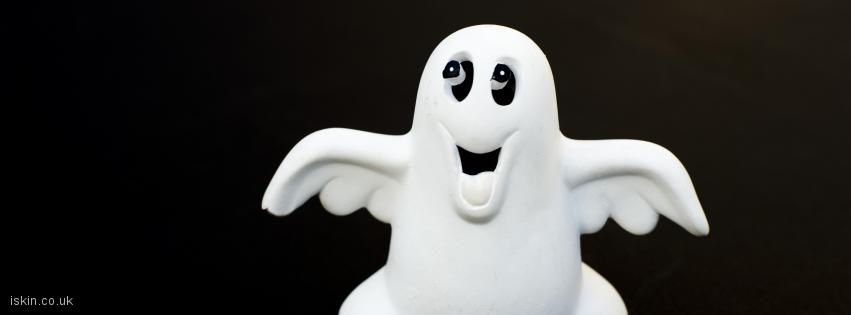 facebook header whimsical ghost