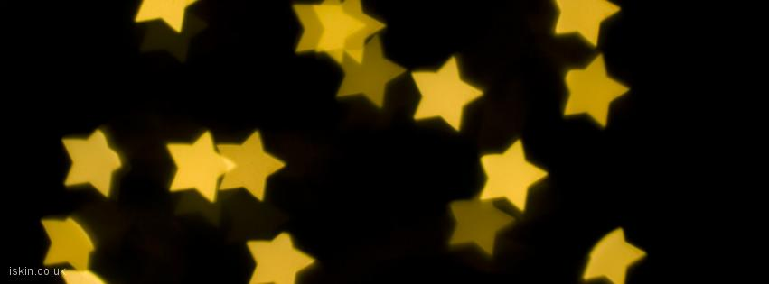 facebook header Yellow Stars