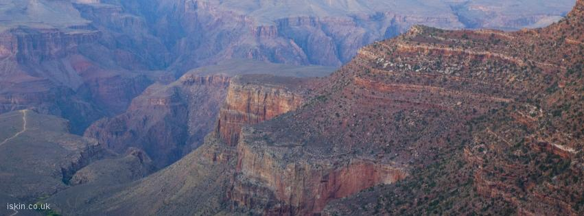 facebook header grand canyon landscape