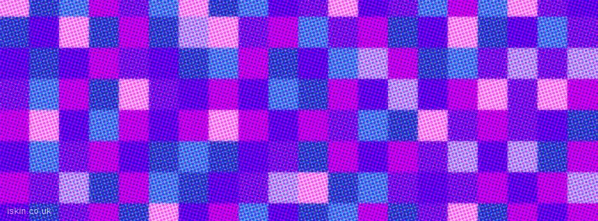 facebook header halftone dots and squares
