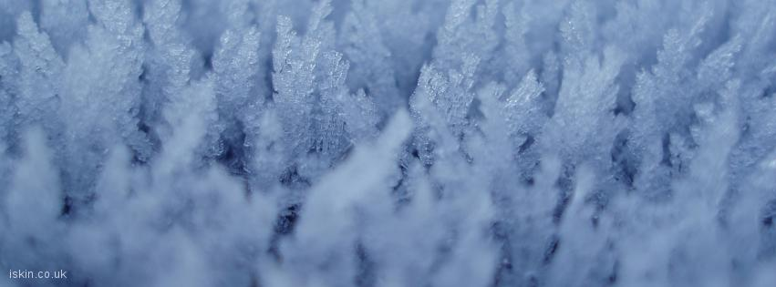 facebook header Ice Crystals