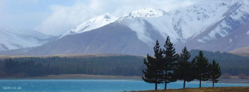 facebook header Lake Pukaki